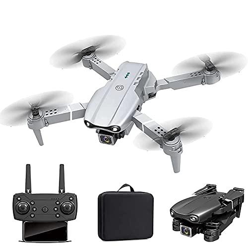 GZTYLQQ Drone con Fotocamera GPS Pieghevole FPV Drone con videocamera HD 4K Video in Diretta per Principianti, Quadricottero RC con GPS Ritorno a casa, Seguimi, Controllo dei gesti, Volo in Cerchio,