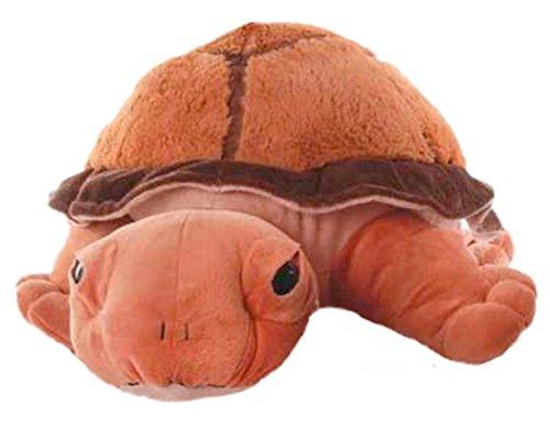 Inware 6967 - Kuscheltier Schildkröte Chilly, 53 cm, braun, Kuschelschildkröte, Schmusetier