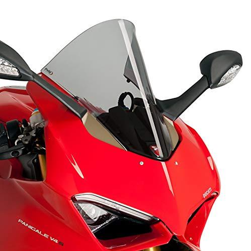 Racingscheibe für Ducati Panigale V4/ S 18-19 rauchgrau Puig 9690h