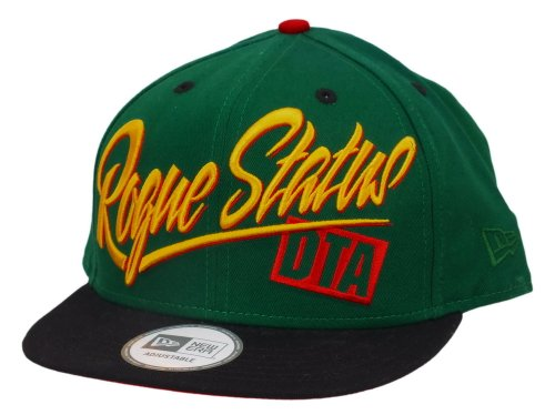 New Era Dta Snapback Script Slap Green / Black / Gold - One-Size