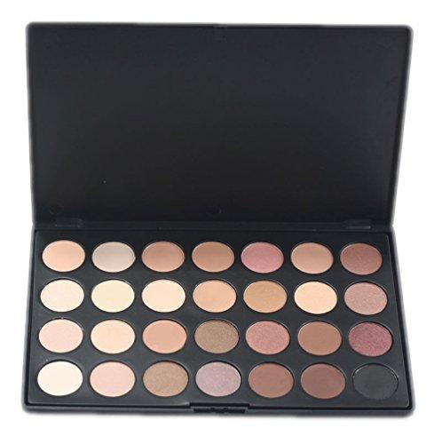 PhantomSky 28 Couleurs Fard à Paupières Palette de Maquillage Cosmétique Set - Parfait pour une utilisation professionnelle et quotidienne