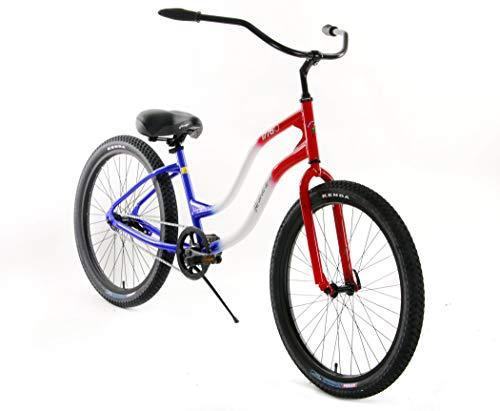 Why Choose Quality Mango 1776 Longboard Special Edition Aluminum Beach Custom Cruiser One Speed Bicy...