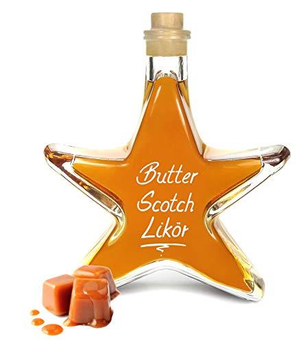 Butter Scotch Likör 0,2L Sternflasche Karamell Bonbon 18% Vol.