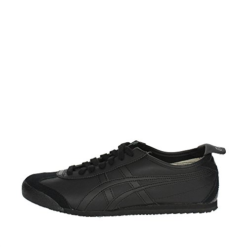 ASICS Mexico 66, Sneaker Unisex-Adulto, Nero (Black/Black 9090), 46.5 EU