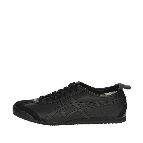 Onistuka Tiger Mexico 66 Unisex-Erwachsene Sneakers, Nero (Black/Black),39 EU
