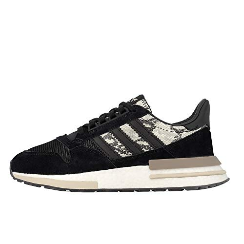 Mens Adidas Originals ZX 500 RM Trainers in Core Black/Cloud White