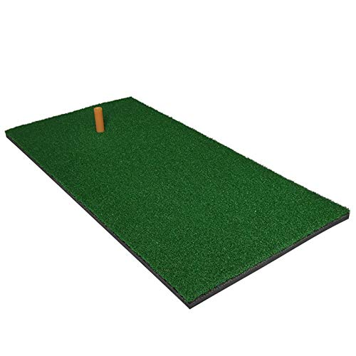 Esterilla de Golf portátil en para Entrenamiento Mini Golf Matting Mat Mat artificial Mat de golf Interior al aire libre Práctica de golf Mathyard Mat Mat Mat Golf Entrenamiento Golfting Pad 50x80cm