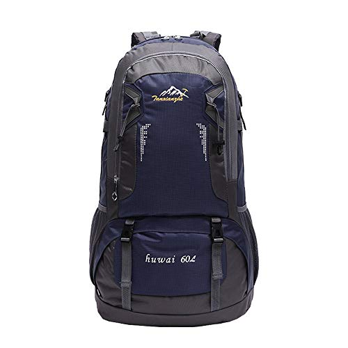 Hiking Backpacks Large 60L Hiking Backpack Lightweight Multi-functional Casual Camping Trekking Rucksack Cycling Travel Climbing Mountaineer Daypack Bag Suitable for Traveling,Hunting,Camping,Mountain