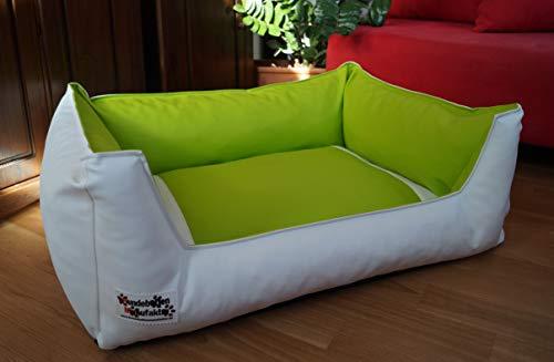 Cuccia per cane cani divano sonno spazio in ecopelle Acceso 105 cm X 80 cm