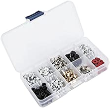 besttoyhome 228pcs Personal Computer Screws & Standoffs Set Assortment Kit for Mother Board