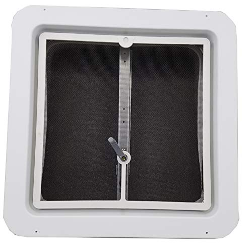 14' RV Roof Vent w/Low Profile Metal Lid 75111-C