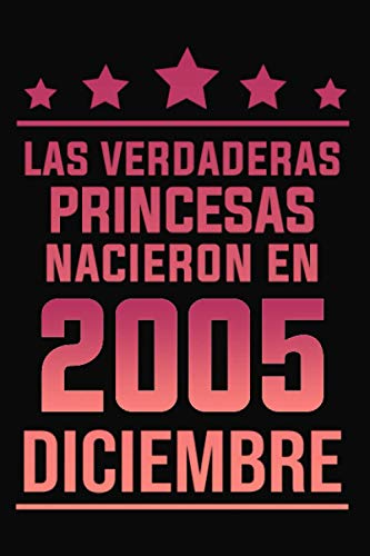Las Leyendas Nacen en Diciembre 2005: Cumpleaños de 15 años, idea de regalo para niñas, cumpleaños de regalo para adolescente, hermana, hermano, novia, diario de cumpleaños