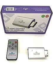HDMI-adapterkabel voor de Nintendo Gamecube met GCVideo-software. Ondersteunt 2x Line-Doubling en is inclusief afstandsbediening. Een eenvoudige Plug & Play oplossing van Kaico