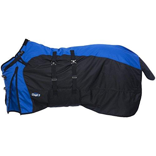 Tough-1 1200D Turnout Belly Wrap Horse Blanket Blue/Royal4 72