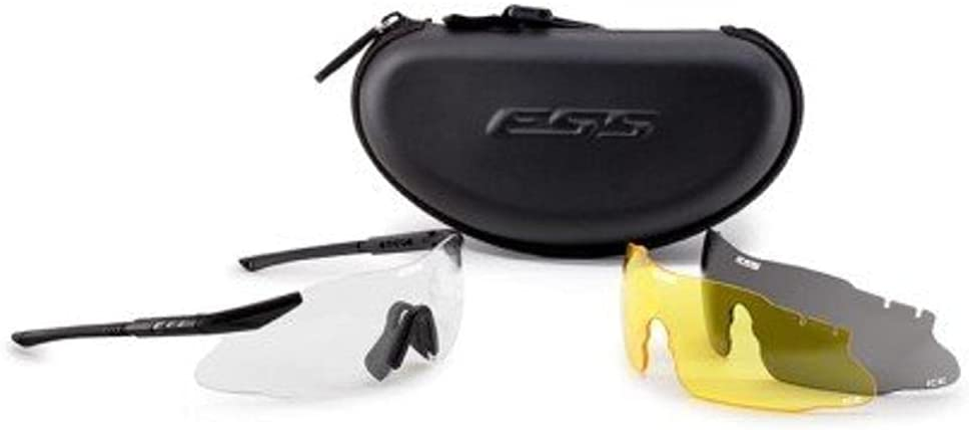 ESS Eyewear Ice 3LS Eyeshield Kit, Black