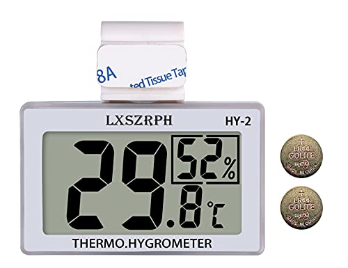 GXSTWU Reptile Hygrometer and Thermometer High LCD Display Temperature...