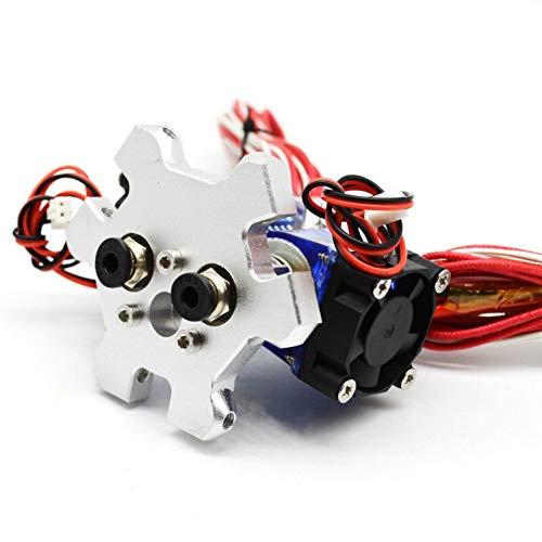NO LOGO L-TAO-Pulley, 1pc for Reprap Delta Kossel 3D-Drucker Dual-V6 Hotend Effektor Kit 1.75mm 0.4mm Düse 12 / 24V 40W (Größe : 12V 40W)