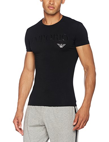 Emporio Armani Underwear 111035cc716 Top Pigiama, Nero (Nero 00020), Large Uomo