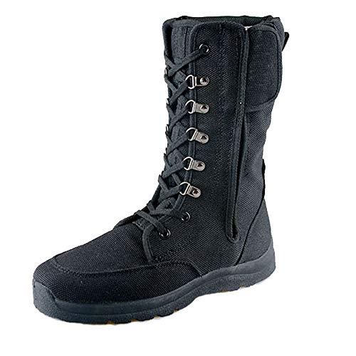 shoes Schwarze Taktische Stiefel des Sommers Militärstiefel, 38-45 ultraleichte atmungsaktive Wüstenstiefel Rettungsstiefel,Reisen im Freien Anti-Piercing Wanderstiefel Trainingsstiefel bekämpfen