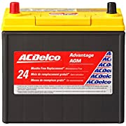 ACDelco Gold B24R 24 Month Warranty Hybrid Vehicle AGM BCI Group 51 Battery