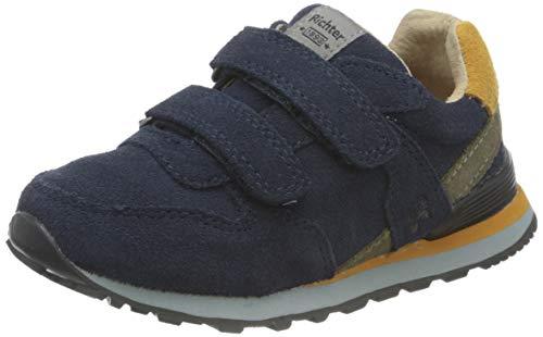 Richter Kinderschuhe Junior 7628-8111 Sneaker, 7201atlantic/curry/clay, 28 EU