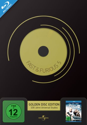 Fast & Furious 5 Golden Disc Edition [Blu-ray]