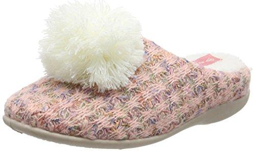 Dunlop Adeline, Zapatillas de Estar por casa para Mujer, Melocotón Naranja, 40 EU