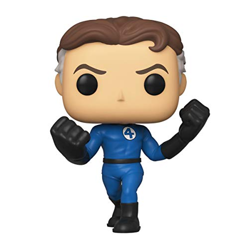 Funko- Pop Marvel Four-Mister Fantastic Collectible Toy, Multicolor (44985)