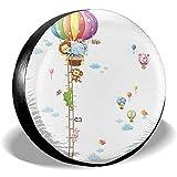 Linus-Store Animal Balloon Messlatte Colorfast Universal Fit Reifendecke 16 Zoll