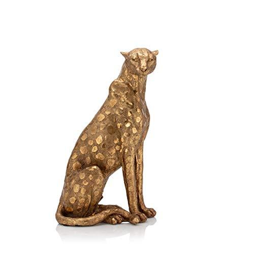 Alfredo Pauly Dekofigur Leopard, 37 cm - Figur Deko Tierfigur Skulptur Afrika…