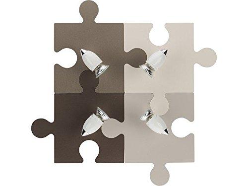 Nowodvorski puzzel voor kinderen (4GU10) Ref. 6382, bruin