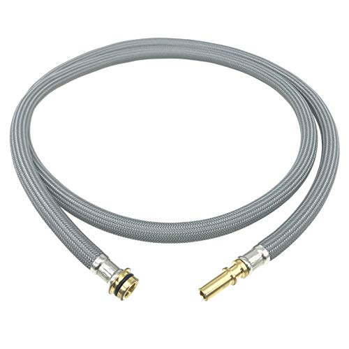88624000 Kitchen Faucet Hose Replacement Part for Hansgrohe Pull Down Spray Hose 95507000 95506000, 59-inch Length by Awelife