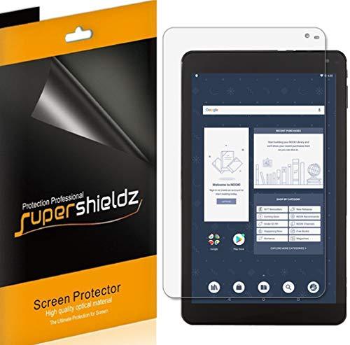 Supershieldz (3 Pack) for Barnes & Noble Nook Tablet 10.1 inch (BNTV650) Screen Protector, Anti Glare and Anti Fingerprint (Matte) Shield