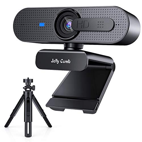 Webcam Con Microfono Para Pc 1080P webcam con microfono para pc  Marca Jelly Comb