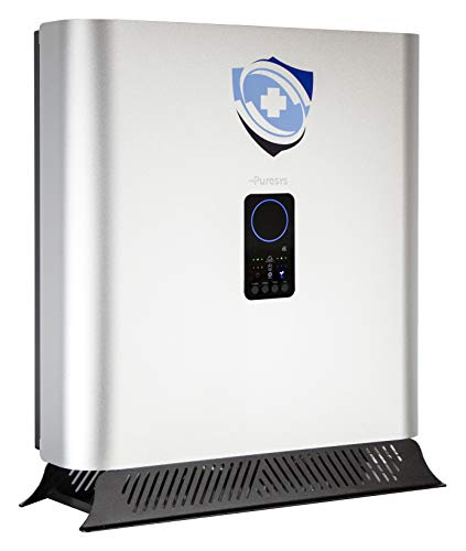 Purificador de Aire con Filtro HEPA All-in-One 20. Elimina Bacterias, Virus y Gases perniciosos. Homologado por el Ministerio de Sanidad. ISO 9001-14001 y Cert. Calidad CE