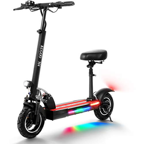 urbetter Patinete Electrico Adulto, Scooter eléctrico Plegable, Pantalla LCD 10AH 500W, neumáticos...