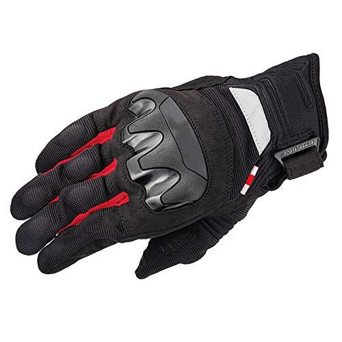ZTXMTST Fietshandschoenen, Koolstofvezel Motorhandschoenen Zomer Mesh Ademend Touch Screen -Anti-Slip Mountainbike Handschoen.