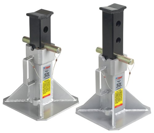 OTC 1780 Stinger Series Super Heavy Duty 22 Ton Jack Stands - 1 Pair