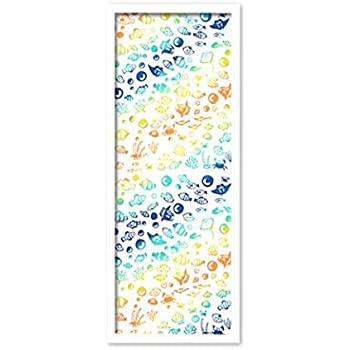 手ぬぐい額縁 スマートフレーム 超軽量タイプ (カラー) (白) UVカットペット板仕様
