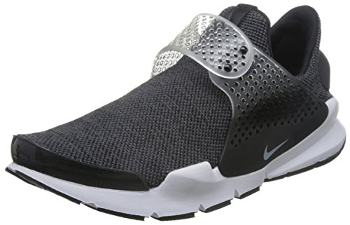 Nike Men's Sock Dart SE Running Shoe (Dark Grey/White-Black-White, 11, 911404-002)