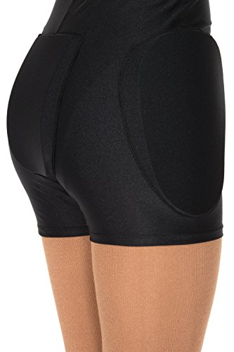 Jerry's #850 Protective Shorts - Black, Adult M/L
