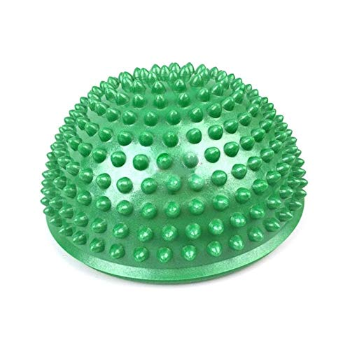 Best Review Of Wg -Fitness Inflatable Half Yoga Ball Exercise Fitness Equipment Balance Training Boa...