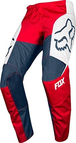 2019 Fox Heren 180 Przm MX Broek Navy/Geel 32 Przm Navy/Red