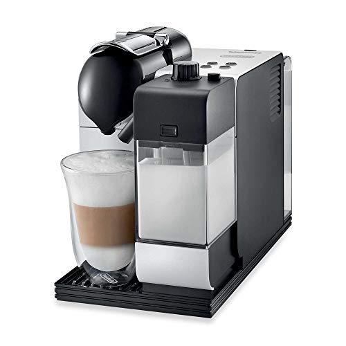 De'Longhi Lattissima Plus Espresso and Cappuccino Machine with Nespresso Capsule System, White
