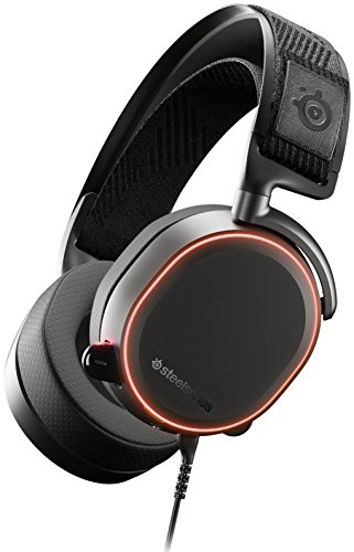 SteelSeries Arctis Pro – Gaming-Headset – hochauflösende Lautsprechertreiber – DTS Headphone:X v2.0 Surround