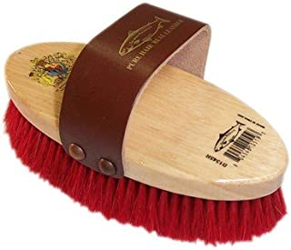 Childs Dandy Brush Blue Yellow Purple Pink Colours avalible: Red Varnishood wooden back Burgundy