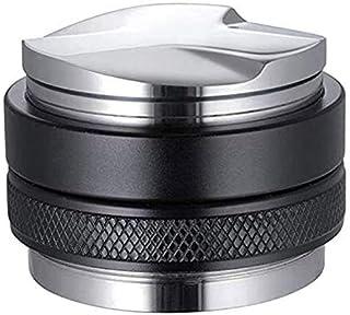 Tobeape 53mm Coffee Distributor & Tamper 2 in 1,Dual Head Coffee Leveler Fits for 54mm Breville Portafilter, Adjustable De...