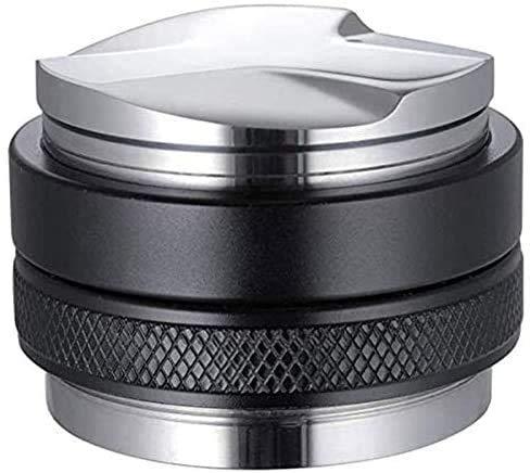 Tobeape 53mm Coffee Distributor & Tamper 2 in 1,Dual Head Coffee Leveler Fits for 54mm Breville Portafilter, Adjustable Depth- Professional Espresso Hand Tampers