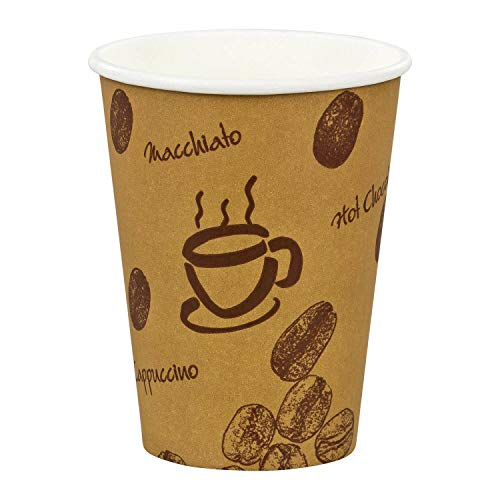 Vasos Cafe Carton 200 Ml vasos cafe  Marca 1-PACK