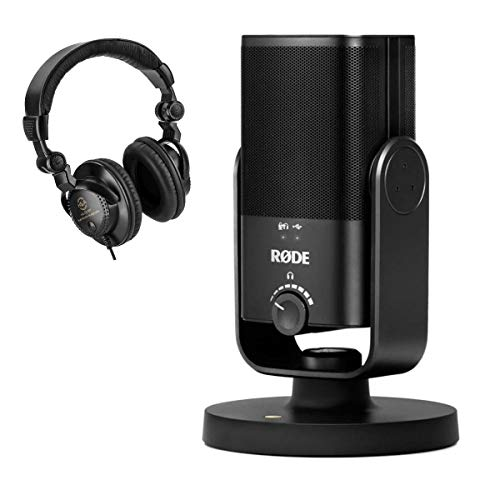Rode Microphones NT-USB Mini Studio-Quality USB Microphone - with Headphones